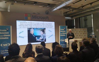 """Il chatbot di Citel Group per Optima Italia premiato al CMMC nella categoria """"AI & ChatBot Customer Service"""""""